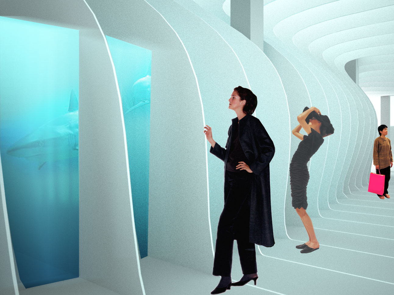 Aquarium im Ausstellungskontinuum