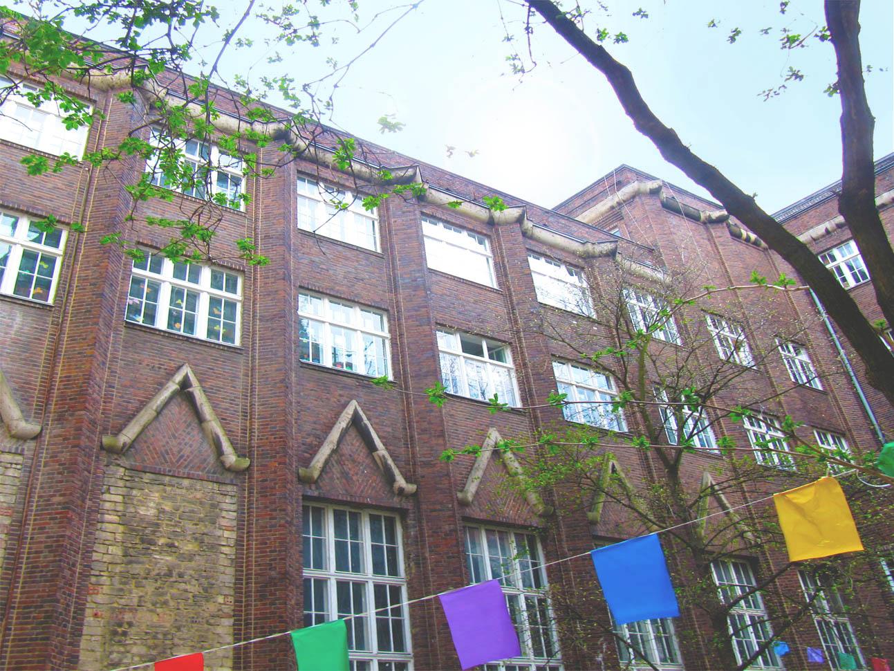 Expressionistisches Gebäude