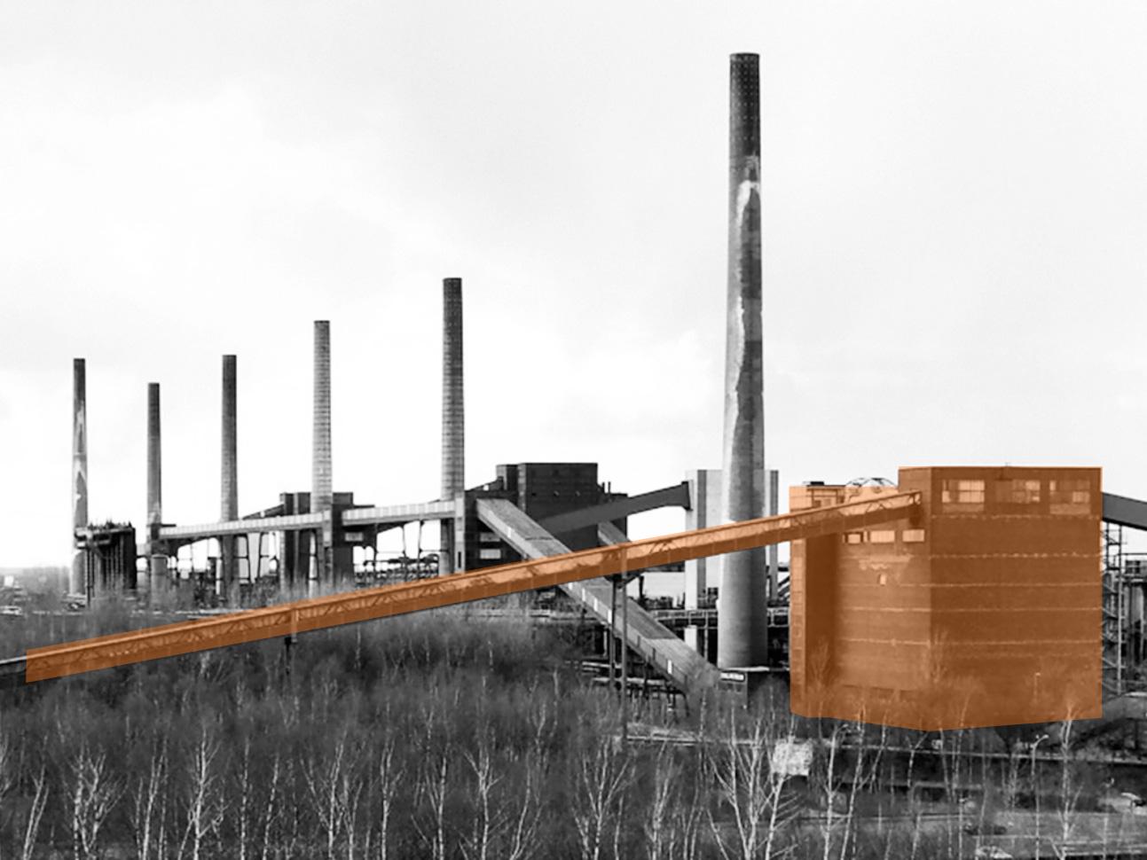 Der Ort - Die Mischanlage der Kokerei Zollverein