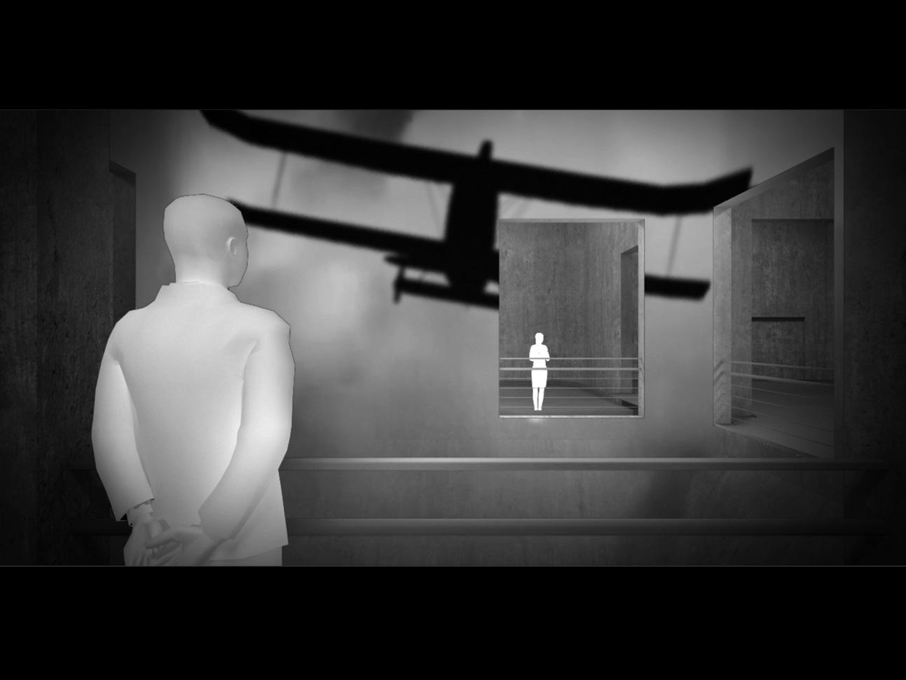 Der Krieg im Westen - Multimediale Installation im Zentrum der Mischanlage