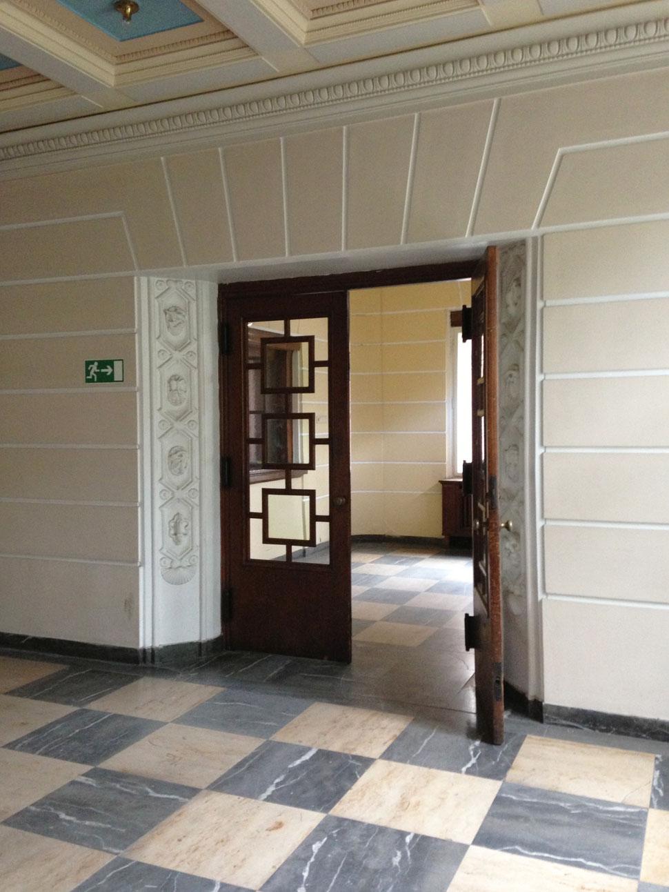 Foyer Eingangstür