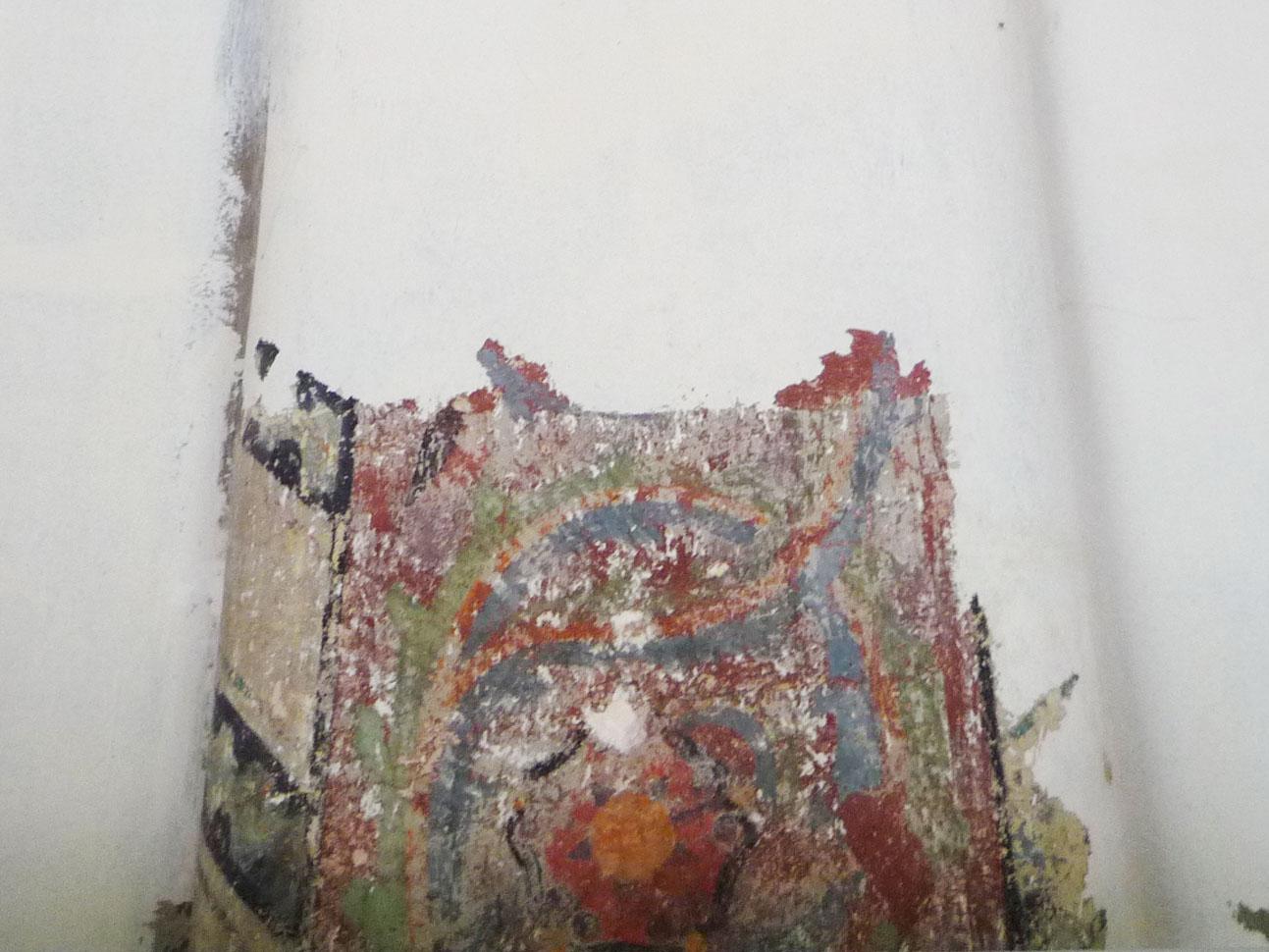 Detail Bemalung Bogen