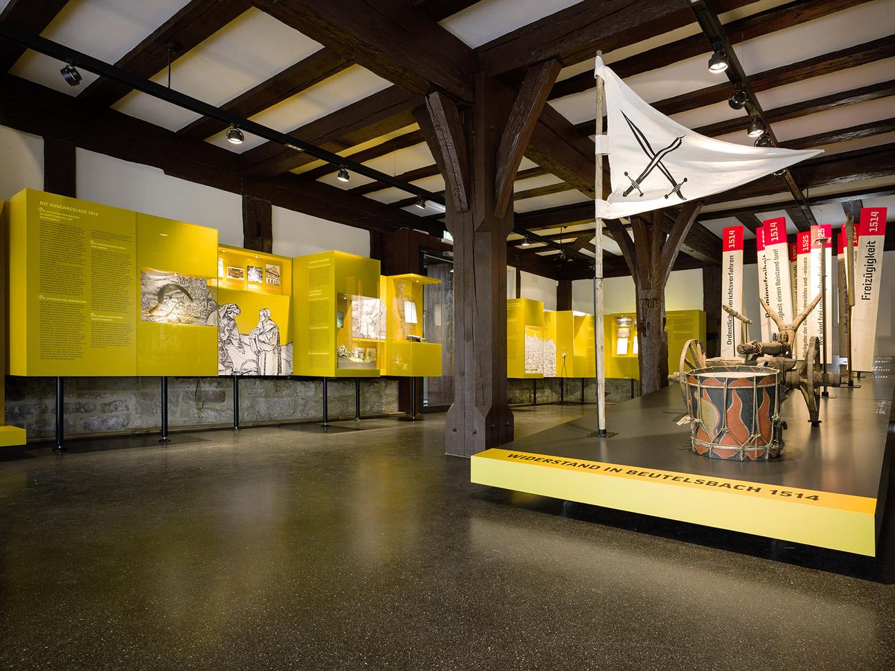 EG Übersicht Ausstellungsraum
