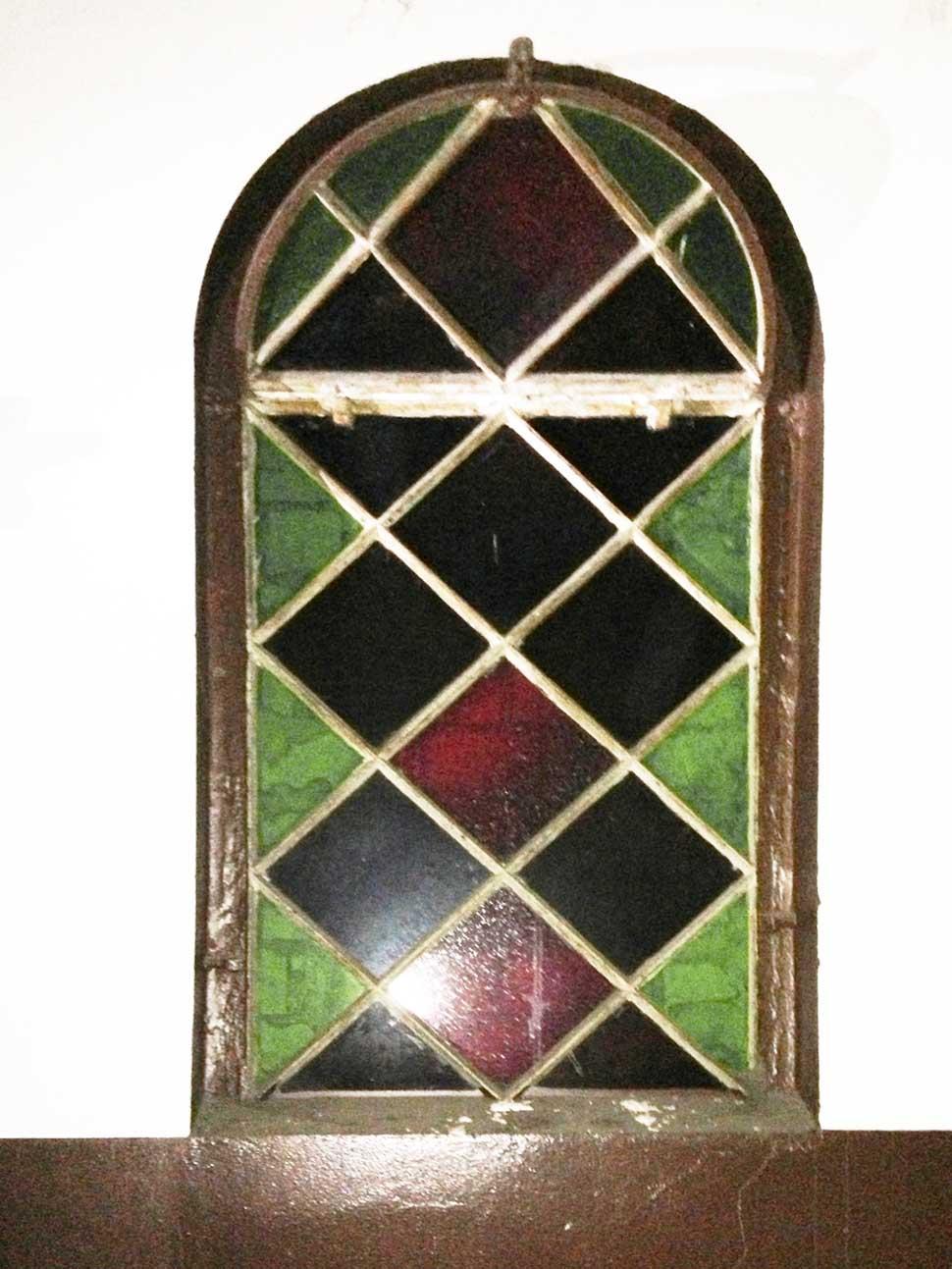 Detail Buntglasfenster